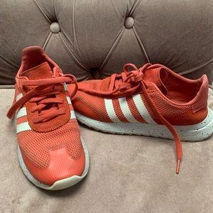 Adidas Burnt Orange Sneakers Size 7.5